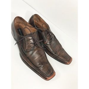 Georgia Brutini Square Toe Oxford
